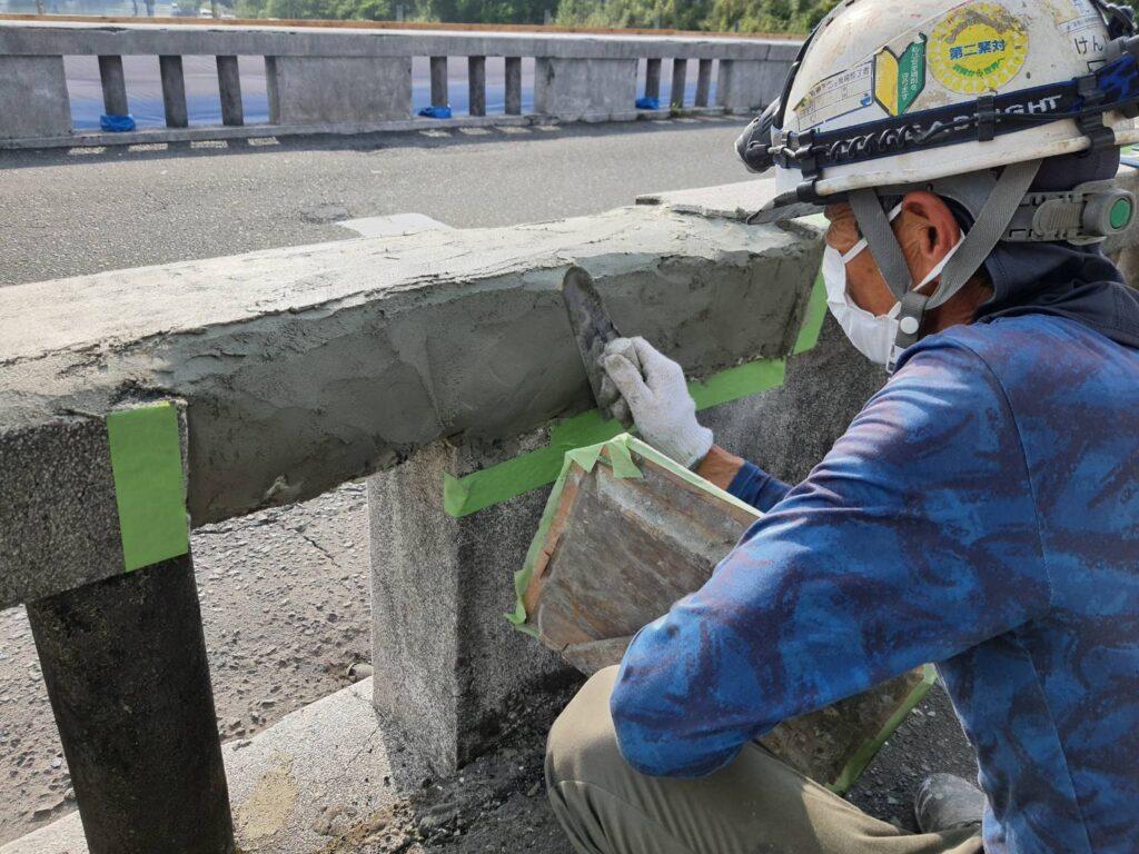 断面修復 静岡 橋梁補修
